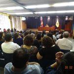 Nuevas autoridades de Letras se reunieron con el personal administrativo