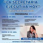 """Curso de Capacitación y Actualización """"La Secretaria Ejecutiva de Hoy"""""""