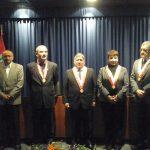 Juramentó José Carlos Ballón Vargas como Decano de la Facultad de Letras y Ciencias Humanas