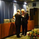 Ceremonia de proclamación, entrega de credenciales y juramentación del electo Decano de la Facultad de Letras y Ciencias Humanas
