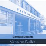 Letras inicia Concurso Público de Contrato Docente