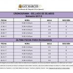 cronograma de sellado de sílabos 2017- II para estudiantes de integrado