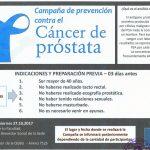 Campaña Preventiva de Cáncer de Próstata