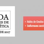 VI Jornada de Estudiantes de Filosofía Analítica – 14 y 15 de noviembre.