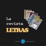 La revista Letras: una publicación de prestigio