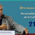 Dr. Gustavo Solís Fonseca: Personalidad Meritoria de la Cultura 2018