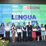 Difusores e investigadores de lenguas indígenas organizado por el Ministerio de Cultura