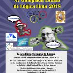 Participa en la XV Olimpiada Estatal de Lógica Lima 2018
