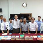 """Grupo de Investigación """"Filosofía y Liberación"""" recibe apoyo bibliográfico de la Soka Gakkai"""