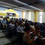 """Administrativos de Letras participan en el taller """"Relaciones Humanas"""""""