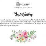 Día de la secretaria: Invitación al personal de Letras