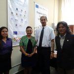 Letras estrecha lazos con la universidad europea: visita del Dr. Martial de la Universidad La Rochelle