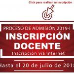 Criterios de inscripción y selección de docentes de la UNMSM para participar en el Simulacro y Examen de Admisión 2019-I