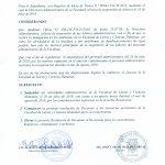 Se suspenden las labores administrativas en la Facultad de Letras y Ciencias Humanas el día 26 de julio