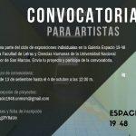 Convocatoria para Exposiciones en la Galería 19 48