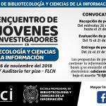 II Encuentro de Jóvenes Investigadores en Bibliotecología y Ciencias de la Información