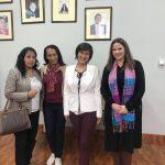 Escuela Profesional de Bibliotecología recibió la visita de 2 especialistas brasileñas