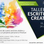 TALLER DE ESCRITURA CREATIVA (NARRACIÓN)