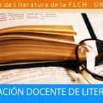 Curso de Actualización Docente de Literatura 2019