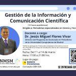 Gestión de la Información y Comunicación Científica