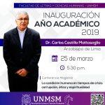 Arzobispo de Lima, Carlos Castillo Mattasoglio, hablará sobre corrupción política
