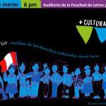Conversatorio: Análisis de los derechos culturales en el Perú