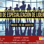 LIDERAZGO – Curso de Especialización