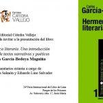 """""""Hermenéutica Literaria una Introducción al Análisis de Textos Narrativos y Poéticos"""""""