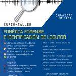 """CURSO TALLER """"FONÉTICA FORENSE E IDENTIFICACIÓN DE LOCUTOR EN EL PERÚ"""""""