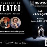 """Talleres de Teatro """"Comediografía y Actuación"""""""