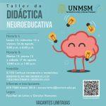 Taller de Didáctica Neuroeducativa