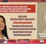 TESISTA QICHWA SHIMIPA WASHASKIR DOCTOR GRADOTA CHASKISHQA