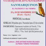 VI COLOQUIO DE JÓVENES FILÓSOFOS SANMARQUINOS