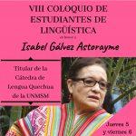VIII Coloquio de Estudiantes de Lingüística