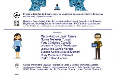 SEMINARIO: «Tendencias actuales en la sociolingüística»