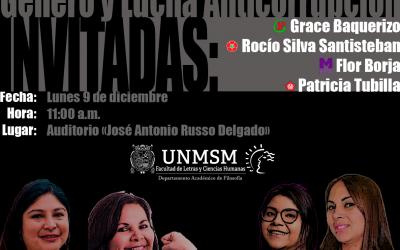 Las candidatas hablan: género y lucha anticorrupción