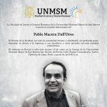 Fallece Pablo Macera