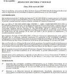 Resolución Rectoral N.° 00145-R-20 | Suspensión de actividades 24 de enero