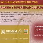 Curso de actualización docente 2020 «Ética, Ciudadanía y Diversidad Cultural»