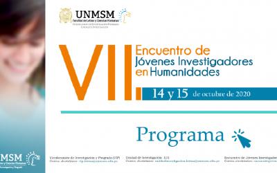 VII ENCUENTRO DE JÓVENES INVESTIGADORES DE HUMANIDADES