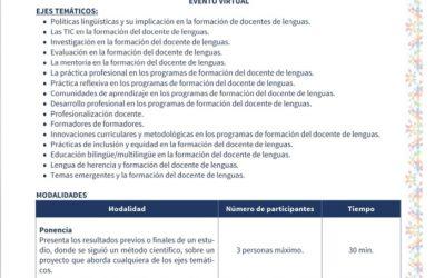 """""""Tercer Congreso internacional de Formadores en la Enseñanza de Lenguas (originarias, español y extranjeras)"""""""